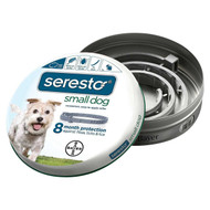 Seresto 8 Month Flea & Tick Collar for Small Dogs (Up to 18 pounds)