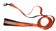 Reflective Nylon Safety Leash with Padded Handle 6 Feet