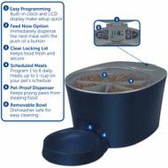 PetSafe 6-Meal Automatic Pet Feeder