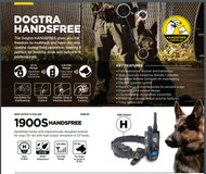 Dogtra 1900S HandsFree Remote Training Collar