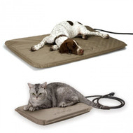 K&H Lectro-Soft Heated Outdoor Dog Bed & Cover