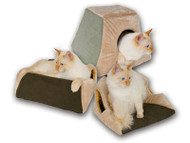 K&H Manufacturing Thermo-Kitty Cabin Heated Cat Bed