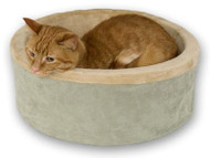 K&H Manufacturing Thermo-Kitty Heated Cat Bed
