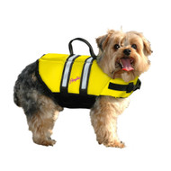 Pawz Pet Nylon Dog Life Jacket-Yellow