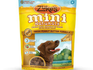 Zuke's Mini Naturals Healthy Moist Miniature Dog Treats-Peanut Butter