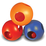 "Paw-zzle Balls 6"" Diameter - Interactive Dog Toy"