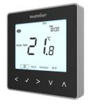 Black Programmable Digital Thermostat - 230V