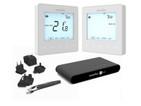 Heatmiser NeoKit 2 White Programmable Digital Thermostat for Wifi c/w Hot Wat...