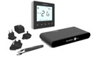 Heatmiser NeoKit 1 Black Programmable Digital Thermostat for Wifi