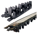 Underfloor Heating Grip Rail / Clamp Track - 1m