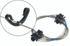 Downpipe spacing wire with clips (20m)