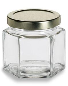 Honeycomb Canning Jar Wholesale 4 Oz Specialty Bottle