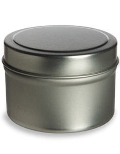 4 oz Deep Tin Container with Slip Cover - TND4