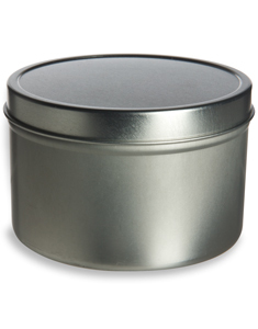16 oz Deep Tin Container with Slip Cover - TND16