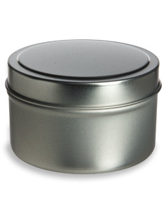 6 oz Deep Tin Container with Slip Cover - TND6