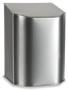 "5"" Flip Top Tea Tin with Silica Packet In Lid - TFLP5"