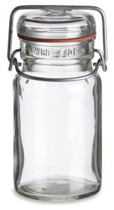 9 oz Vintage Style Mason Jar with Bale Top Lid - VNT9
