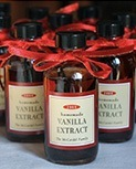 DIY vanilla extract bottle