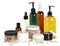Cosmetic containers, push-pump, spray bottle, or lid.