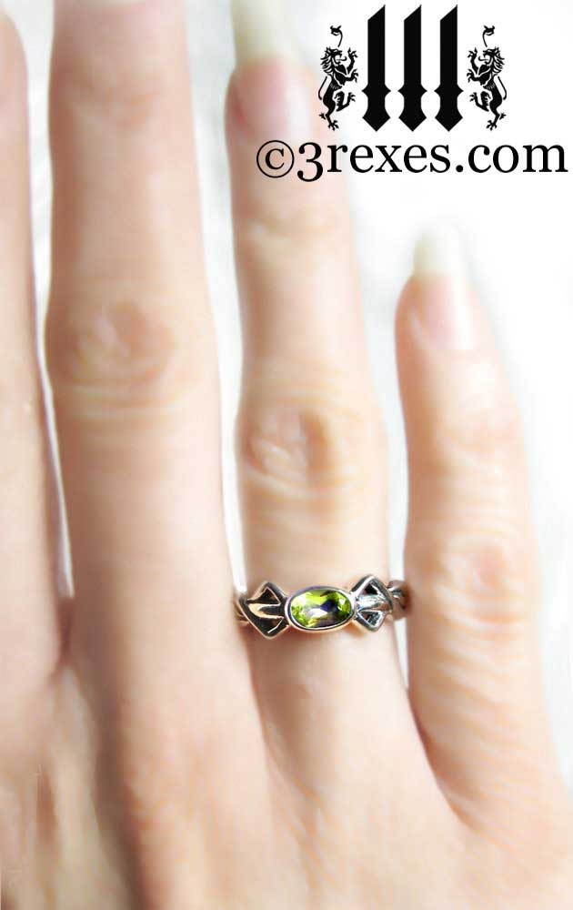 silver friendship ring