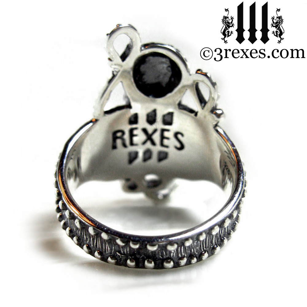 octopus ring back view