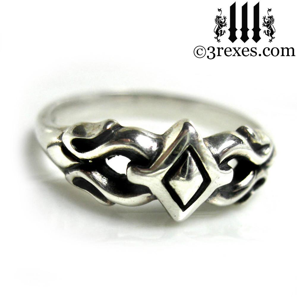 .925 sterling silver friendship ring