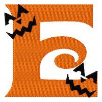 Jack O Lantern Monogram Set