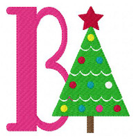 Christmas Tree Fun Monogram Set