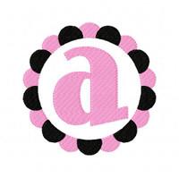 All Season 2 Color Circle Monogram Design Set