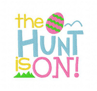 Easter Egg Hunt Is  On