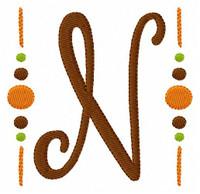 Fall Monogram Set