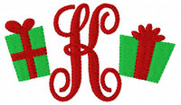 Christmas Gift Mini Monogram Set