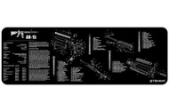 "TEKMAT AR-15 12""x36"" GUN CLEANING MAT (BLACK)"