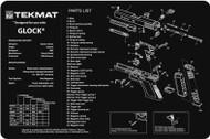 """TEKMAT GLOCK 11""""x17"""" GUN CLEANING MAT"""
