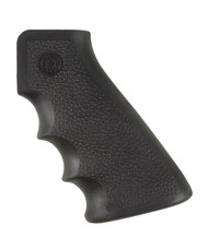 HOGUE MONOGRIP AR-15 OVERMOLDED RUBBER PISTOL GRIP WITH FINGER GROOVES (BLACK)