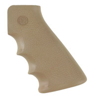 HOGUE MONOGRIP AR-15 OVERMOLDED RUBBER PISTOL GRIP WITH FINGER GROOVES (FLAT DARK EARTH)