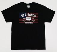 DD'S RANCH AMERICAN FLAG T-SHIRT
