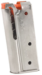 Factory Marlin 7 Round 22LR Magazine Fits Post-1996 Self Loading Rifles (Nickel)