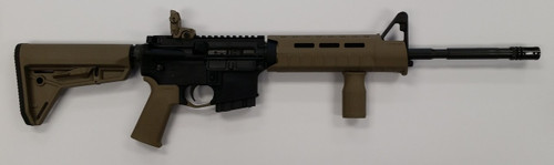 Colt LE6920 Magpul Slim Line Edition 5.56mm/223 Rem NEW YORK SAFE ACT LEGAL fixed magazine rifle features 6 position stock, flash hider, flip rear sight, extended rear take down pin, and a fixed 10 round magazine. It is New York State legal because it has a fixed 10 round magazine and is a top loader. New York does not consider this rifle an assault weapon and therefor is transferable and does not need to be registered