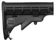 Stag Arms AR-15 6 Position Stock (Stock Only, does not contain any other components)