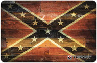 TEKMAT CONFEDERATE FLAG 11''x17'' GUN CLEANING MAT
