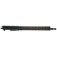 AR-15 COMPLETE UPPER ASSEMBLY WITH BRONZE FREE FLOAT HANDGUARD (5.56 NATO)