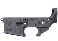 SPIKE'S TACTICAL AR-15 STRIPPED LOWER RECEIVER WITH PUNISHER LOGO