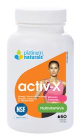 Platinum Naturals activ-X for Women (60 softgels)