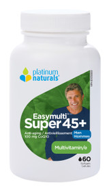 Platinum Naturals Easymulti Super 45+ for Men (60 softgels)