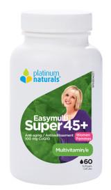 Platinum Naturals Easymulti Super 45+ for Women (60 softgels)