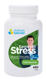 Platinum Naturals Easymulti Stress for Men (60 softgels)