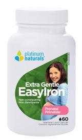 Platinum Prenatal Extra Gentle EasyIron (60 softgels)
