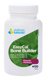 Platinum Naturals Easycal Bone Builder (120 softgels)