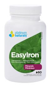 Platinum Naturals EasyIron (60 softgels)
